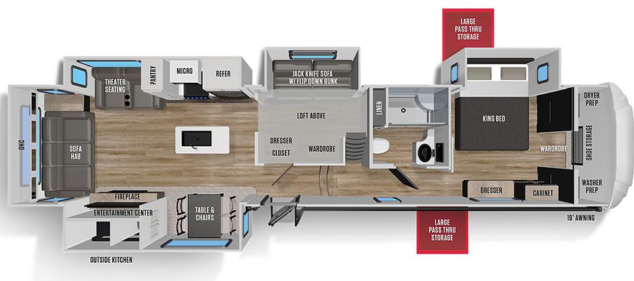 368MB Floorplan