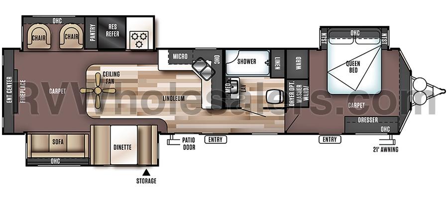 400RETS Floorplan