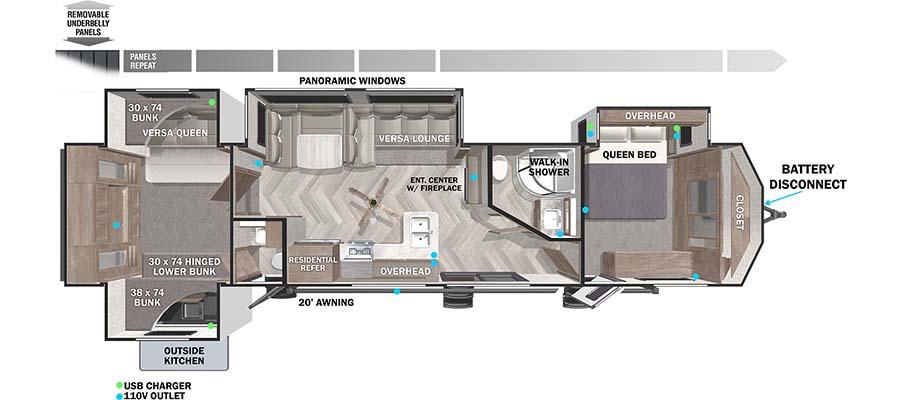 42QBQ Floorplan