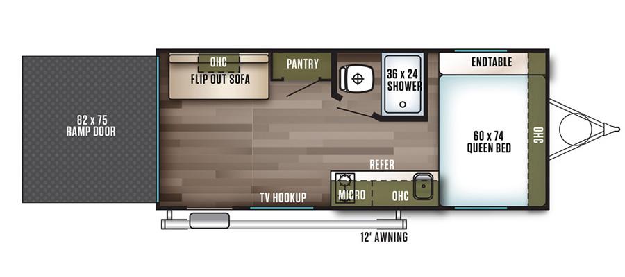 180RT Floorplan