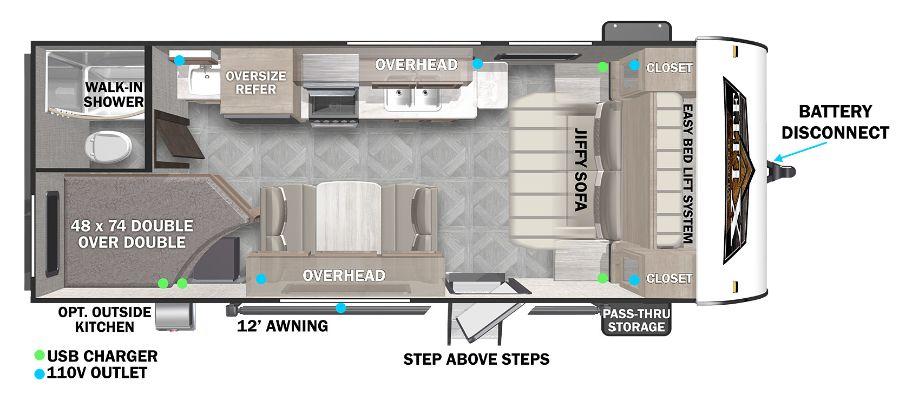 19DBXL Floorplan