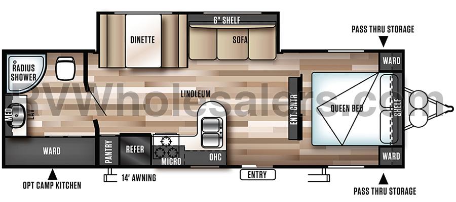 272RBXL Floorplan