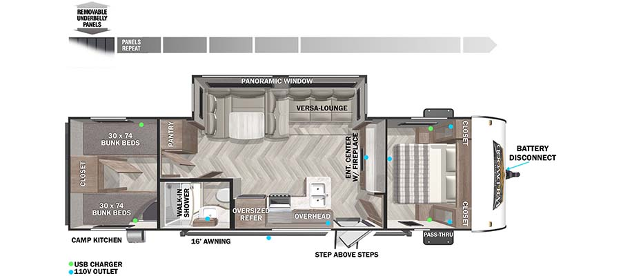 forest river wildwood xlite travel trailer floorplans