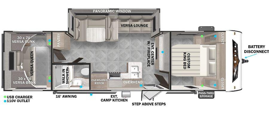 28VBXL Floorplan