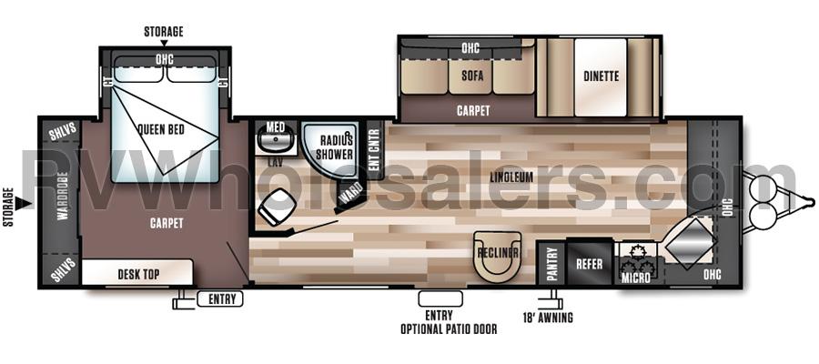 29FKBS Floorplan