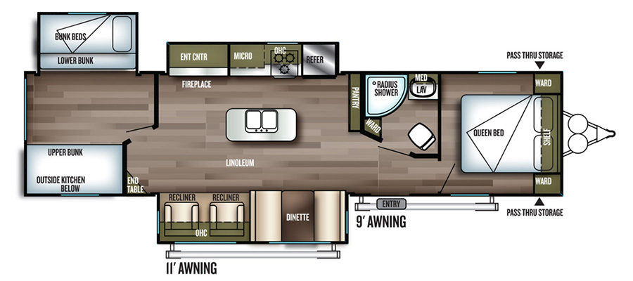 32BHI Floorplan