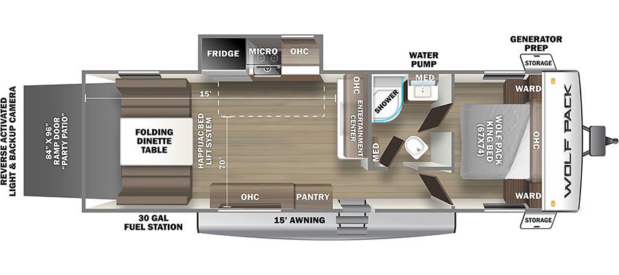 23Pack15 Floorplan