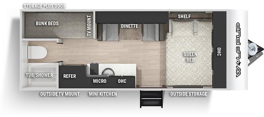 16BHSBL Floorplan