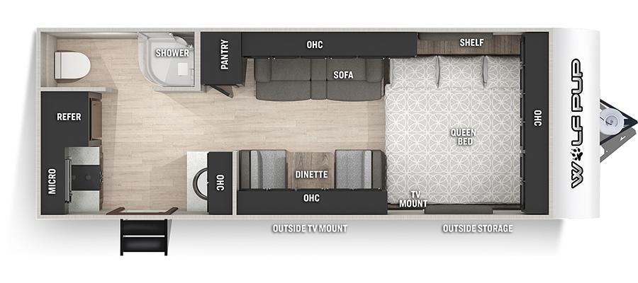 16HEBL Floorplan