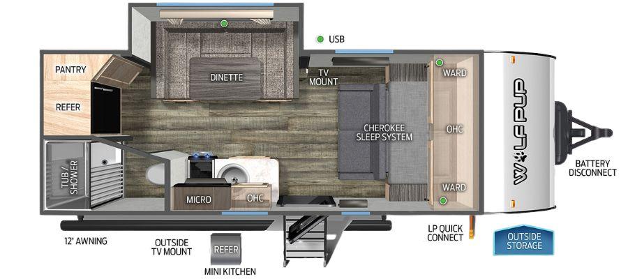 16PF Floorplan