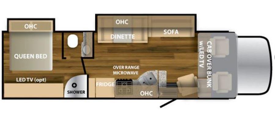 32W Floorplan