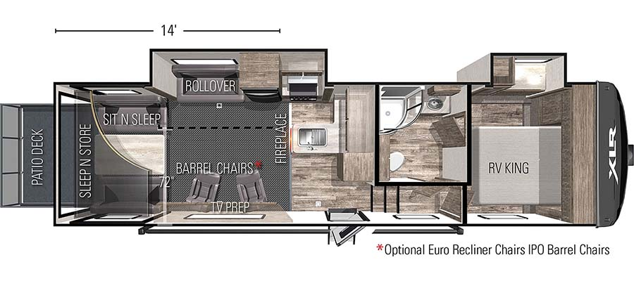 32RZR14 Floorplan