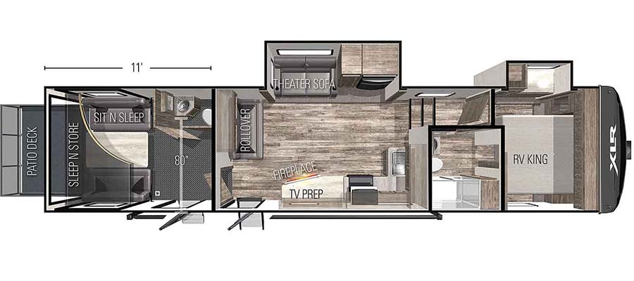 35DSX11 Floorplan