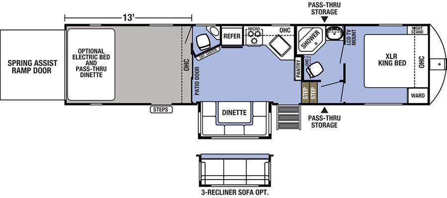 36DSX13 Floorplan