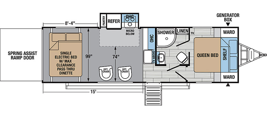 25HFX Floorplan