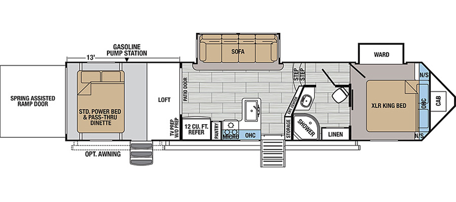 2020 XLR Nitro 33VL5 - stock no. X001021 - image  - thumbnail