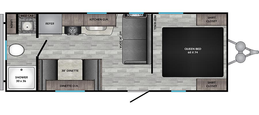 219RB Floorplan
