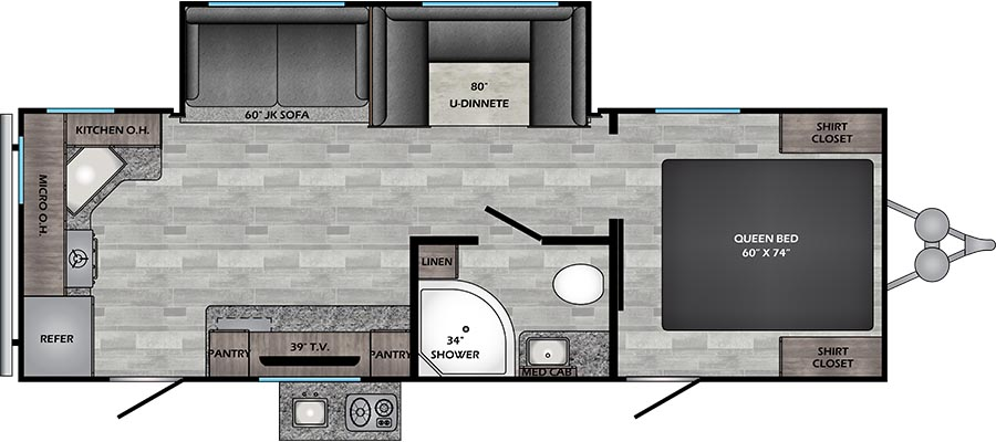 249RK Floorplan