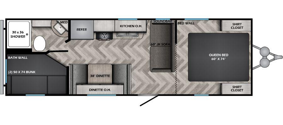 252BH Floorplan
