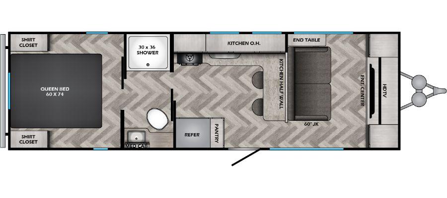 259FL Floorplan