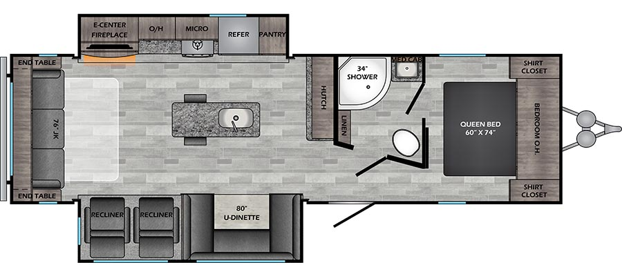 292RE Floorplan