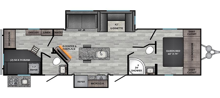 330BH Floorplan