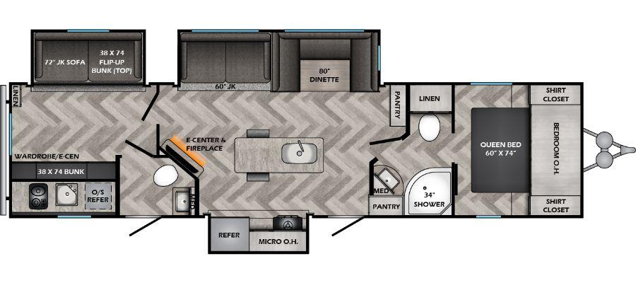 331BH Floorplan