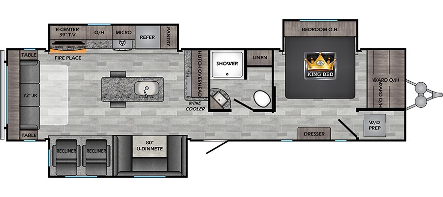340RE Floorplan