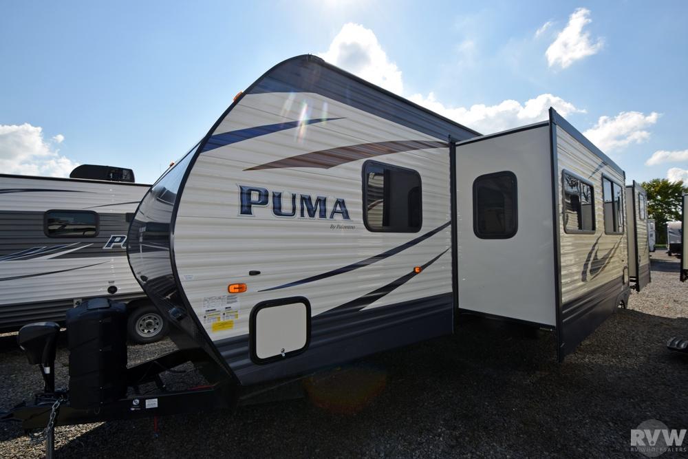 2017 Palomino Puma 31BHSS Travel Trailer | The Real ...