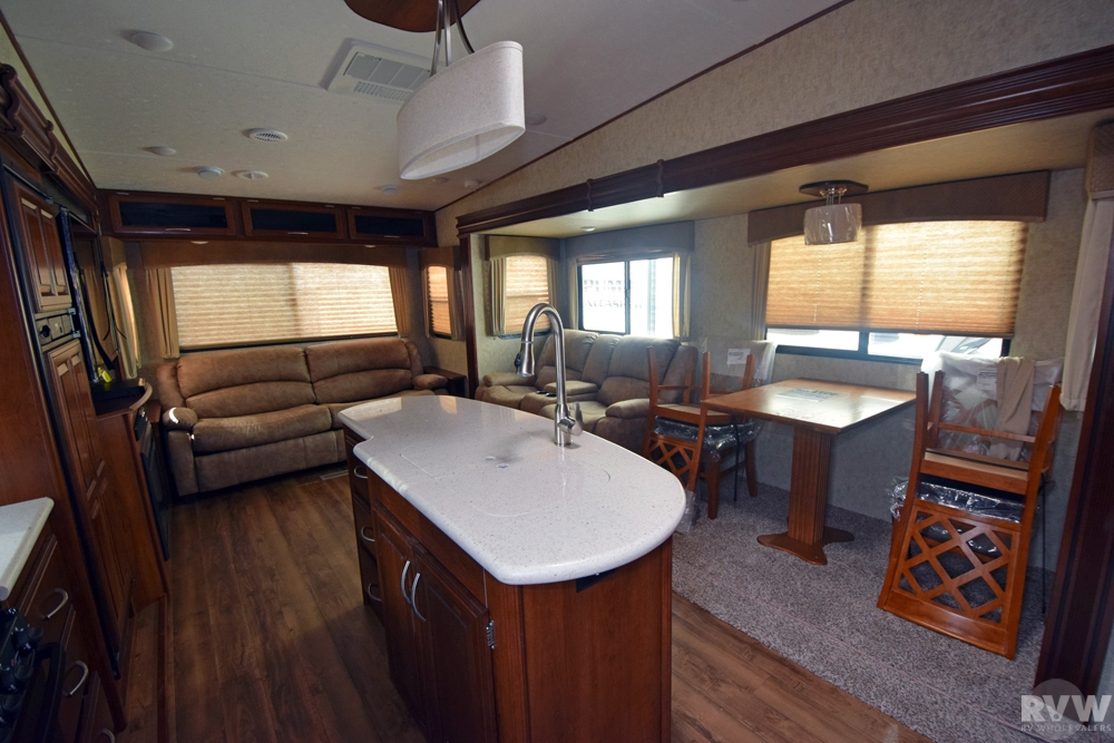 Click here to see the New 2017 Wildcat 29RLX Fifth Wheel by Forest River at RVWholesalers.com