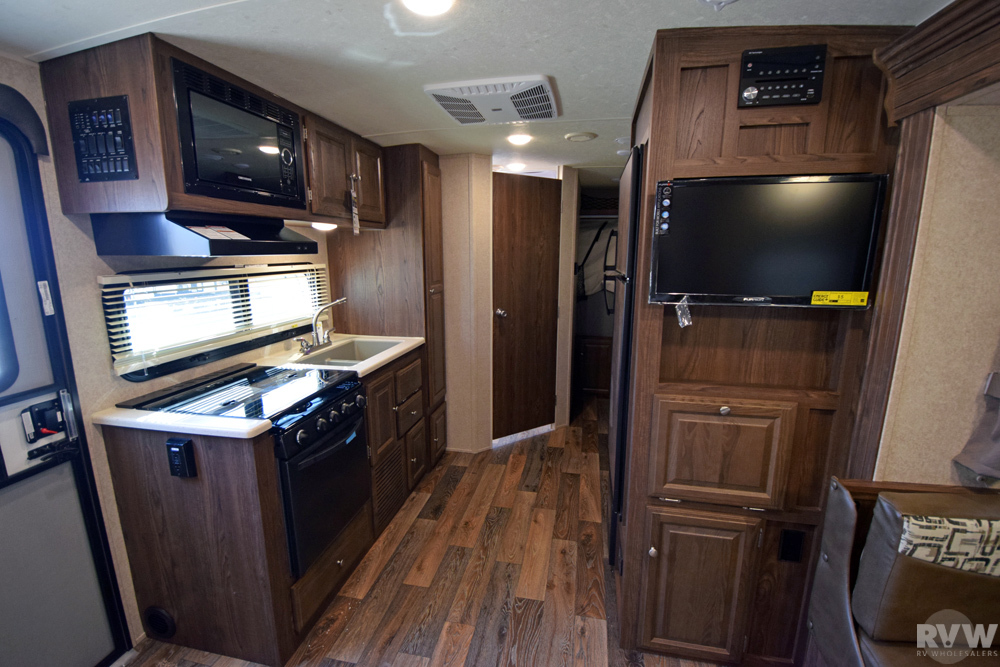 Click here to see the New 2017 Rockwood Roo 233S Hybrid Camper by Forest River at RVNation.us