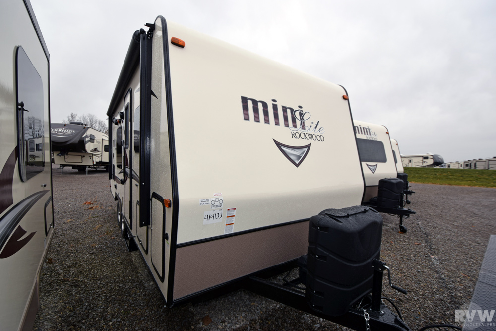 Click here to see the New 2017 Rockwood Mini Lite 2306 Travel Trailer by Forest River at RVWholesalers.com