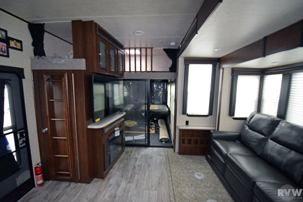 Click here to see the New 2017 Cyclone 3611 Toy Hauler Fifth Wheel by Heartland RV at RVWholesalers.com