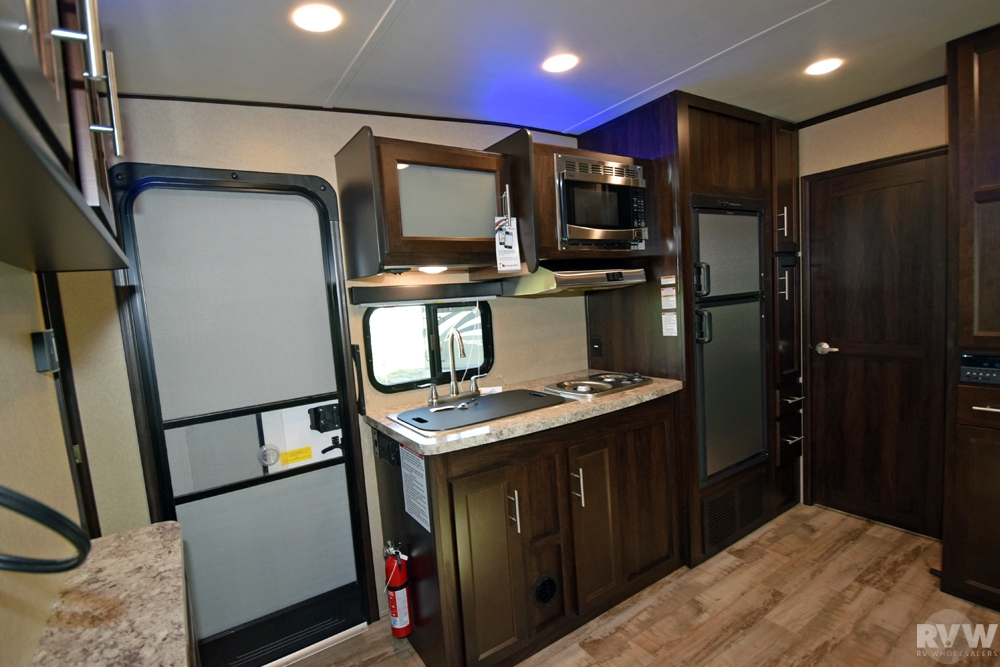 Click here to see the New 2017 XLR Hyper Lite 29HFS Toy Hauler Travel Trailer by Forest River at RVWholesalers.com