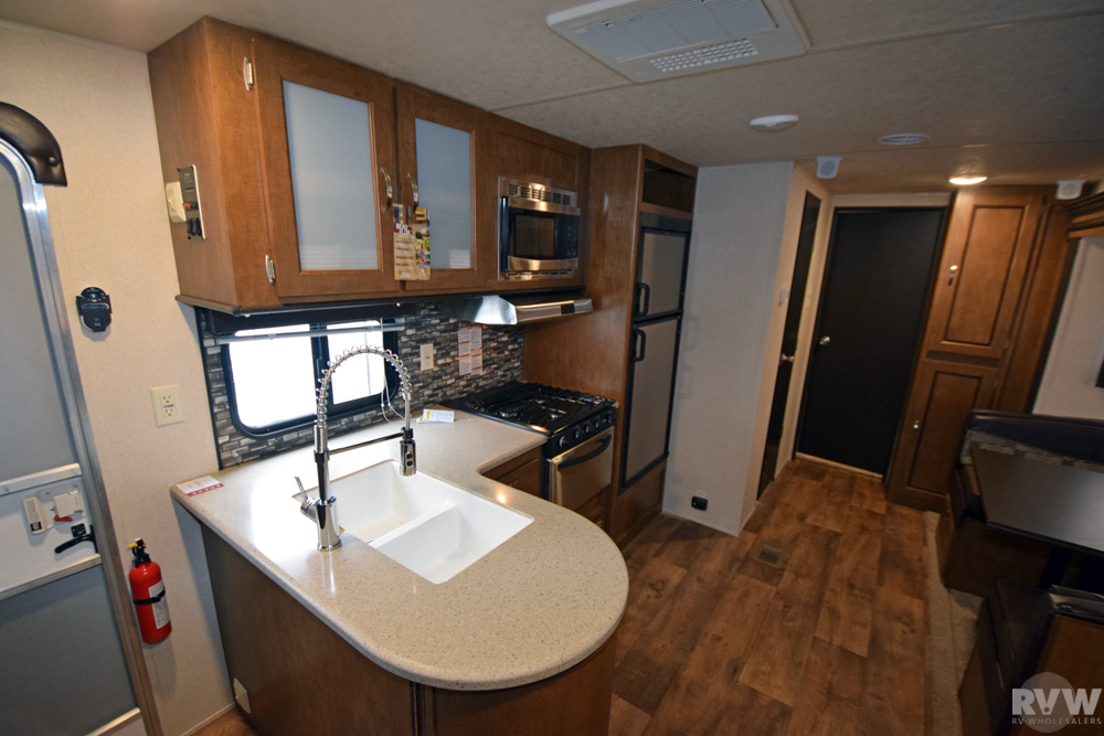Click here to see the New 2017 Wildwood 31KQBTS Travel Trailer by Forest River at RVWholesalers.com