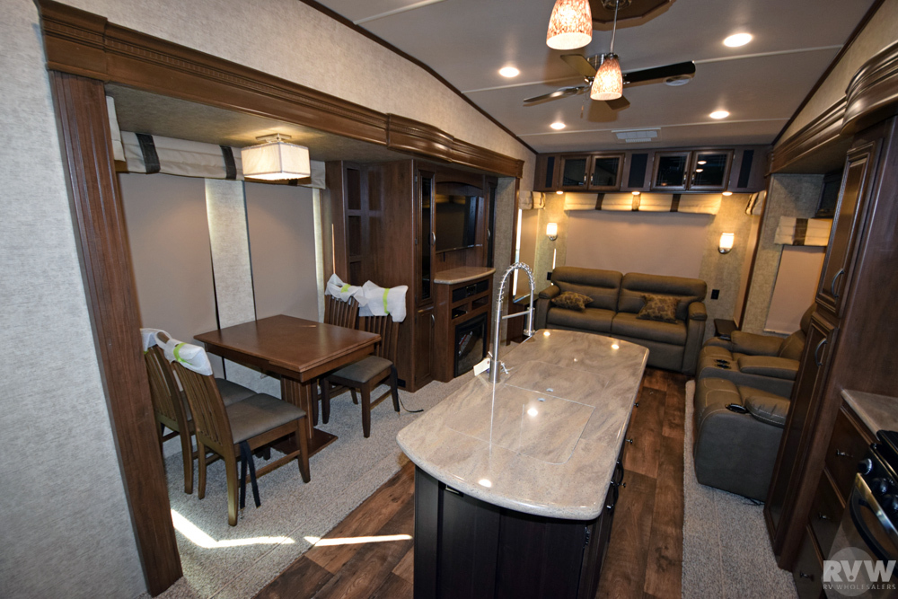 Click here to see the New 2017 Sandpiper 378FB Fifth Wheel by Forest River at RVWholesalers.com