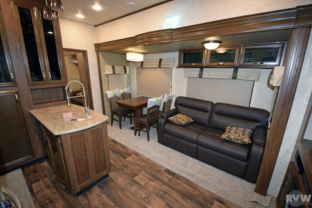 Click here to see the New 2017 Sandpiper 381RBOK Fifth Wheel by Forest River at RVNation.us