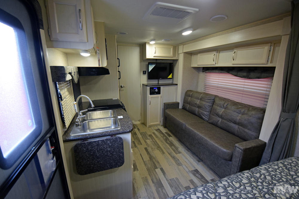 Click here to see the New 2017 Micro Minnie 2106DS Travel Trailer by Winnebago at RVWholesalers.com
