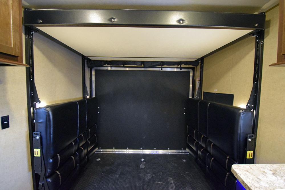 Click here to see the New 2017 XLR Boost 27QB Toy Hauler Travel Trailer by Forest River at RVWholesalers.com