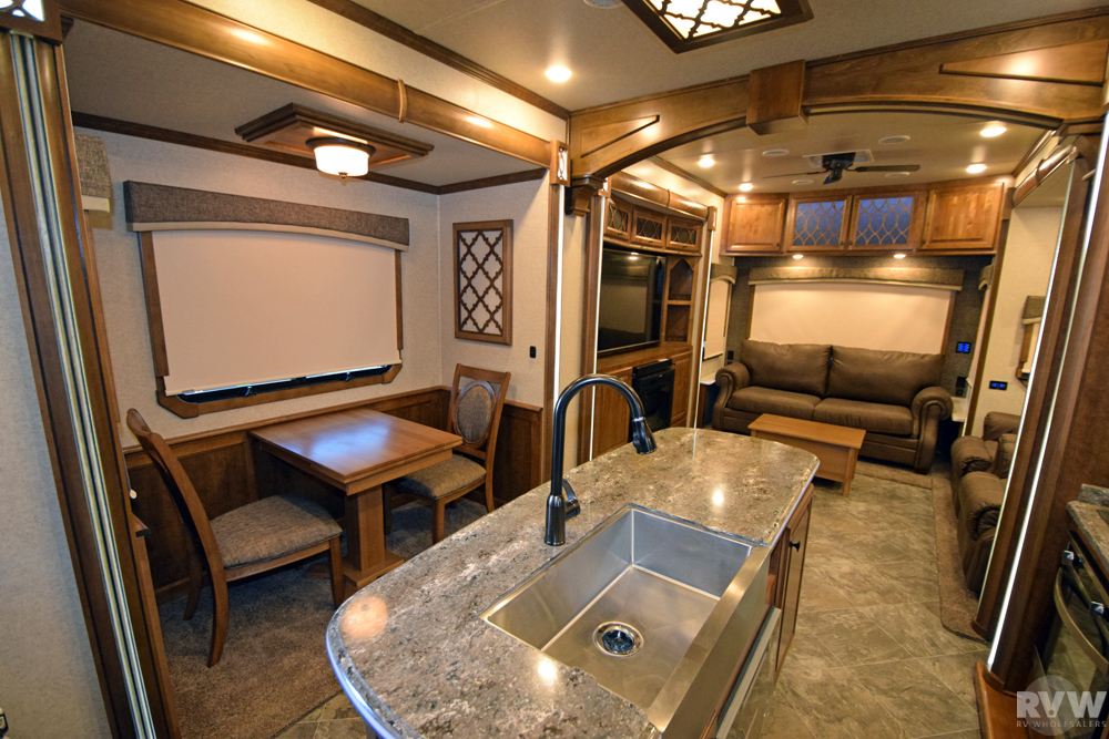 Click here to see the New 2017 Landmark 365 Charleston Fifth Wheel by Heartland RV at RVWholesalers.com