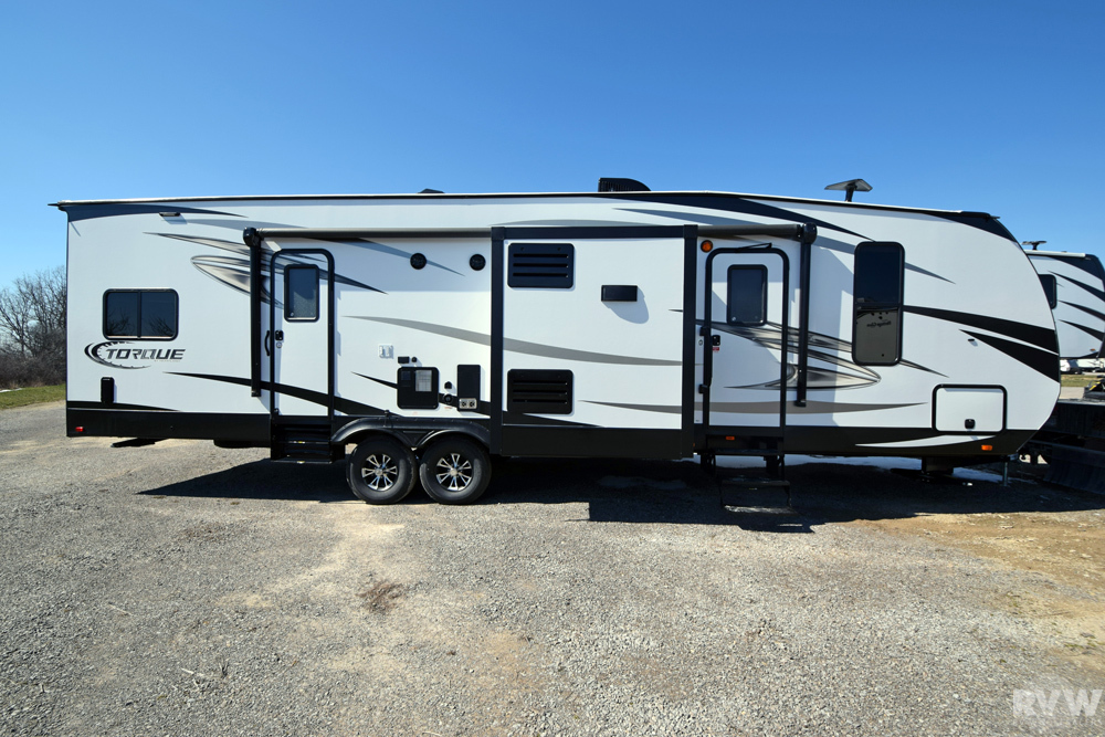 Click here to see the New 2017 Torque XLT T31 Toy Hauler Travel Trailer by Heartland RV at RVWholesalers.com