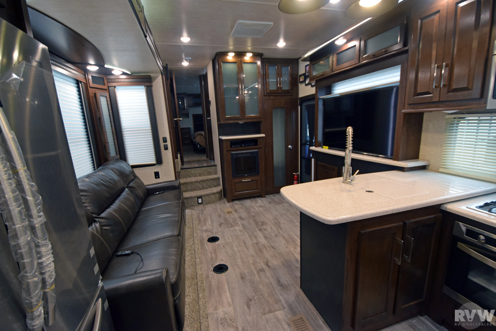 Click here to see the New 2017 Cyclone 4115 Toy Hauler Fifth Wheel by Heartland RV at RVWholesalers.com