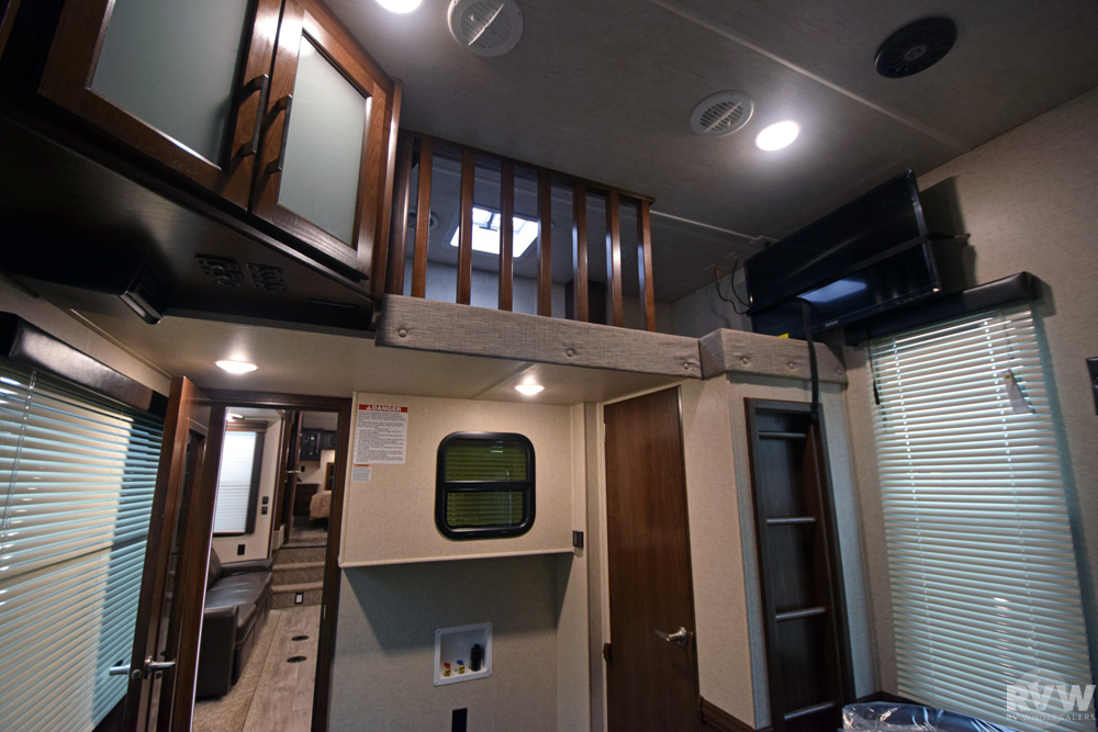 Click here to see the New 2017 Cyclone 4115 Toy Hauler Fifth Wheel by Heartland RV at RVNation.us