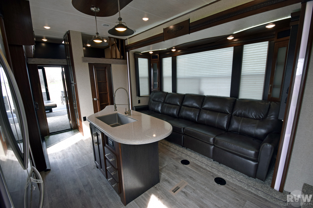 Click here to see the New 2017 Cyclone 4250 Toy Hauler Fifth Wheel by Heartland RV at RVWholesalers.com