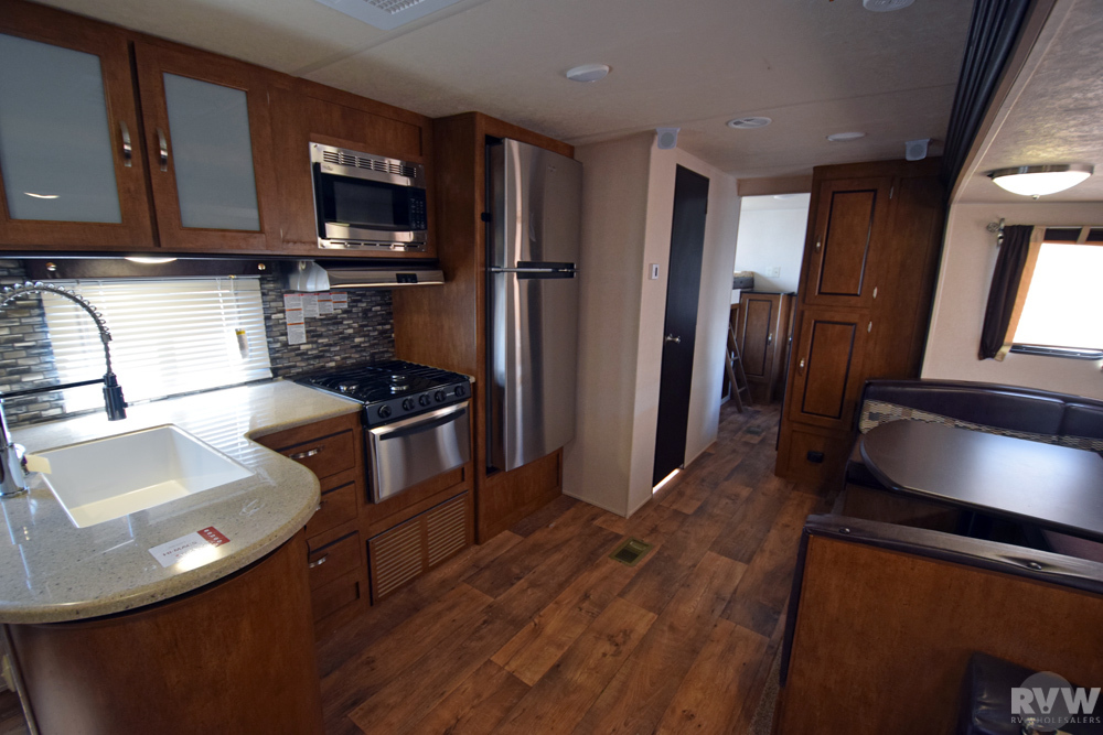 Click here to see the New 2018 Wildwood 30KQBSS Travel Trailer by Forest River at RVNation.us
