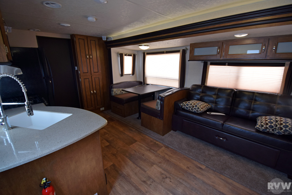 Click here to see the New 2018 Wildwood 36BHBS Travel Trailer by Forest River at RVWholesalers.com