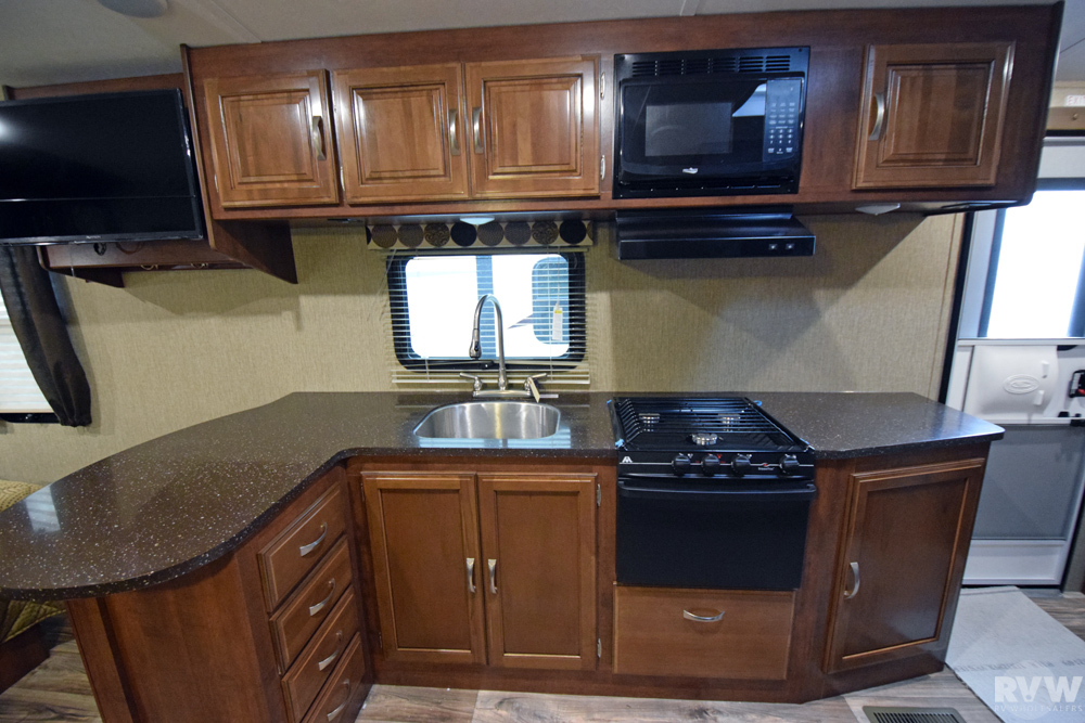 2017 Keystone Rv Passport Elite 23rb Travel Trailer The