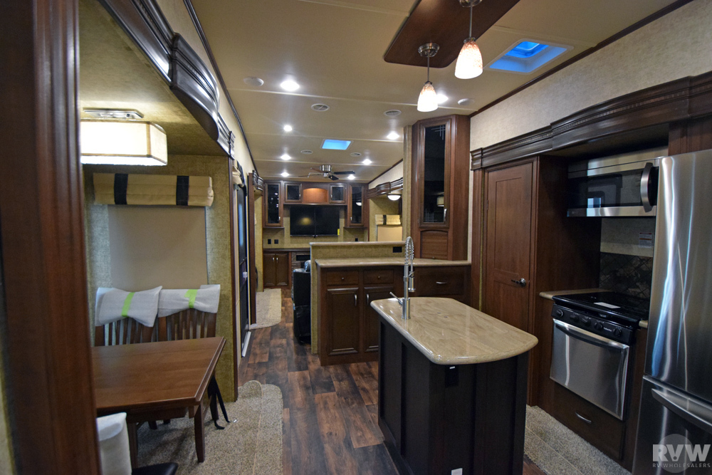 Click here to see the New 2017 Sandpiper 389RD Fifth Wheel by Forest River at RVWholesalers.com