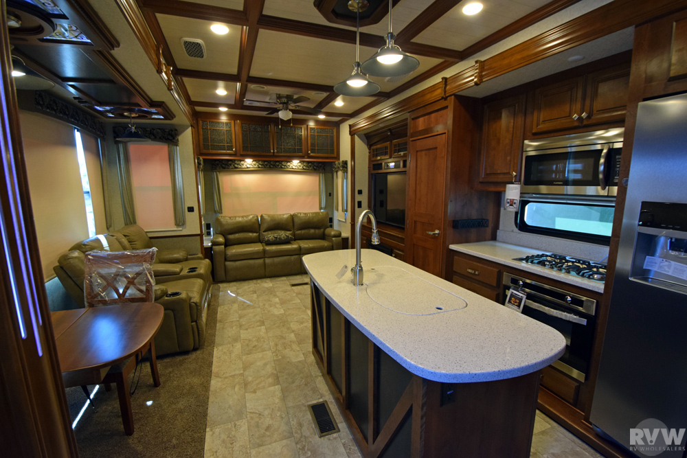 Click here to see the New 2017 Bighorn 3890SS Fifth Wheel by Heartland RV at RVNation.us