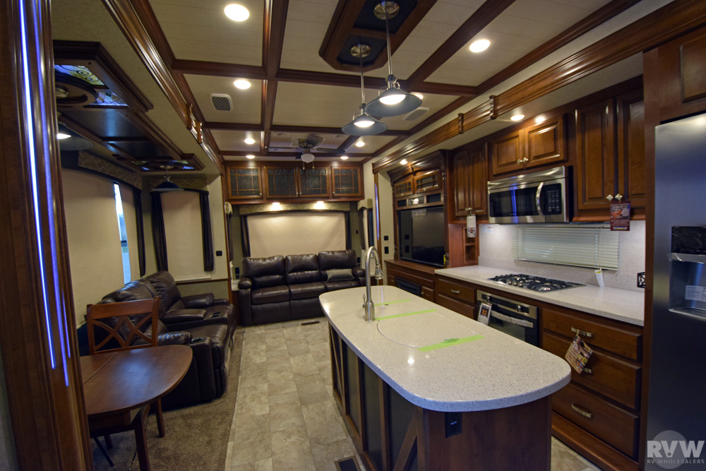 Click here to see the New 2017 Bighorn 3760EL Fifth Wheel by Heartland RV at RVWholesalers.com